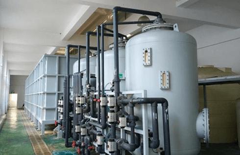 独立设施的电镀废水处理设施
